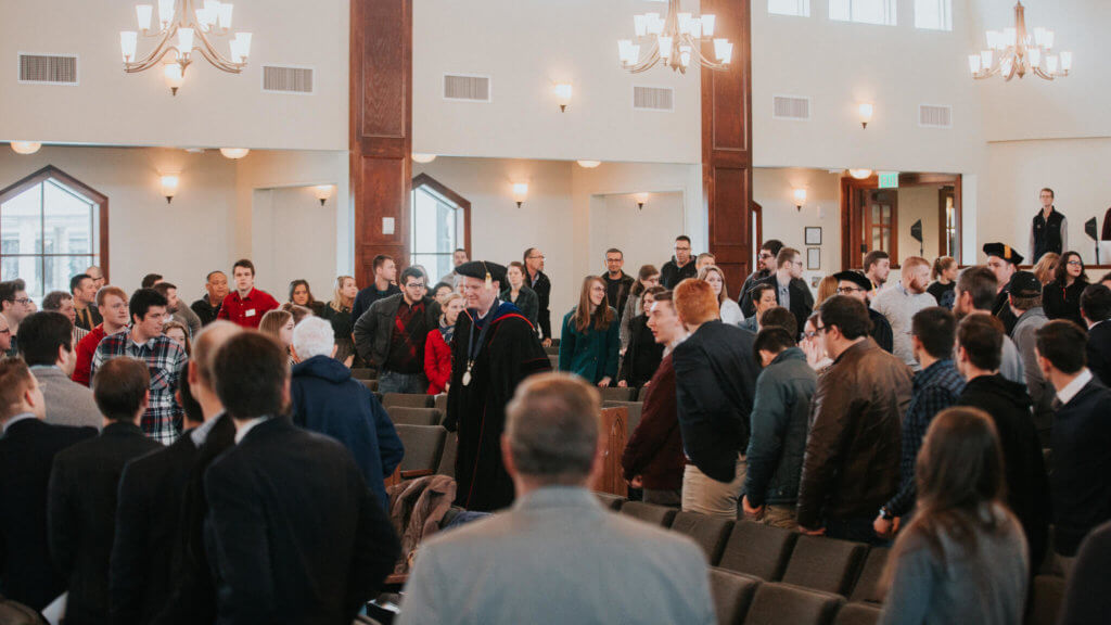 Spring Academic Convocation at Midwestern Seminary emphasizes Christ's love for the lost
