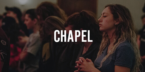 Visit our bi-weekly chapel services