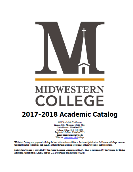 2017-18 College Academic Catalog