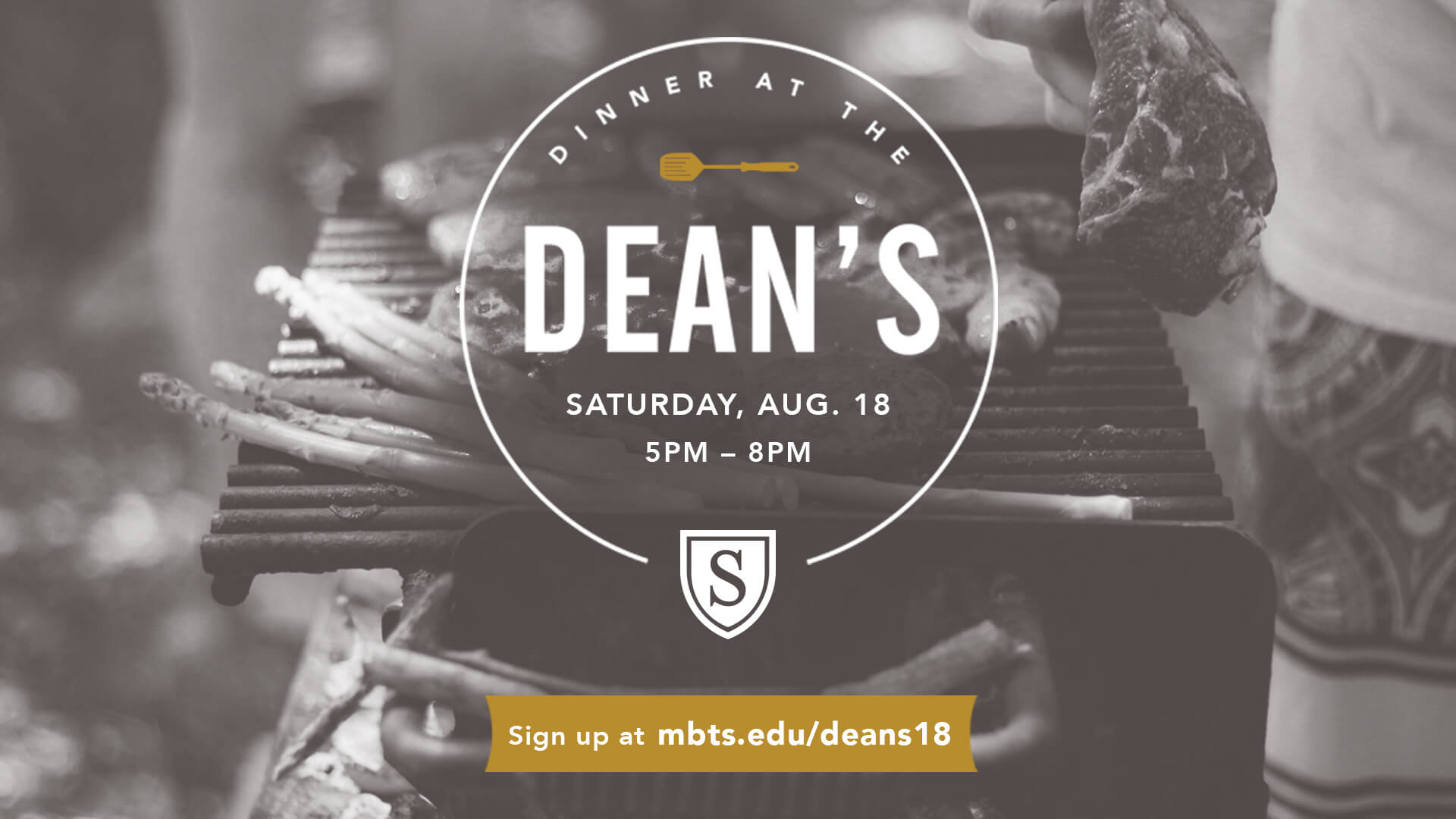 Dinner at the Dean's - Aug. 18