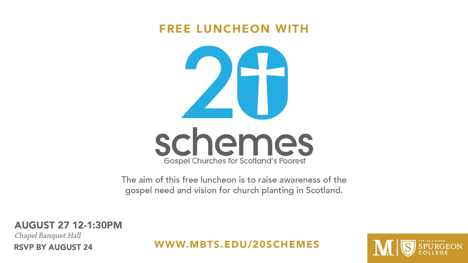 20Schemes Luncheon