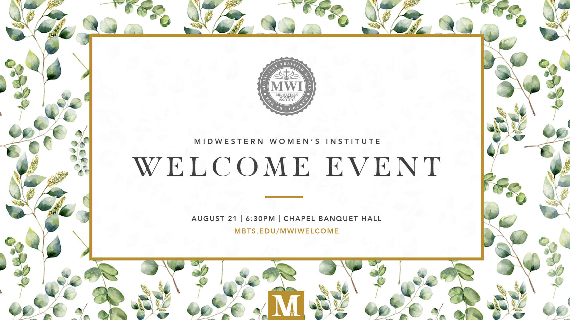 Fall 2018 MWI Welcome Event