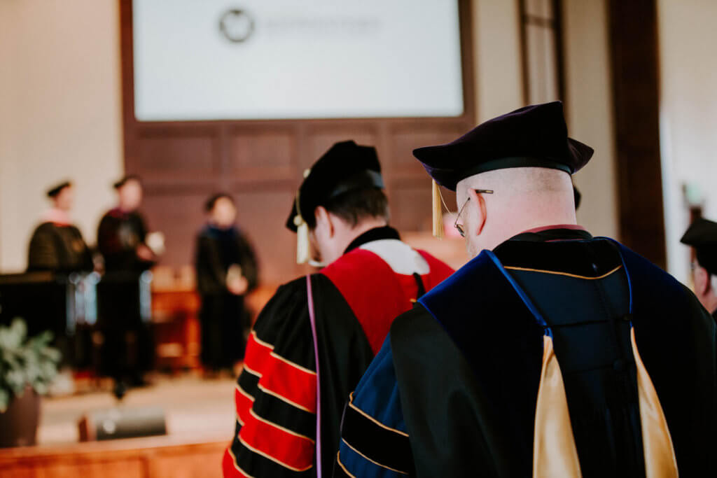 Midwestern Seminary opens semester with Convocation Service, Building Dedication