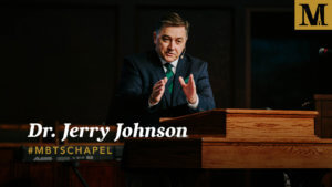 Chapel with Dr. Jerry Johnson