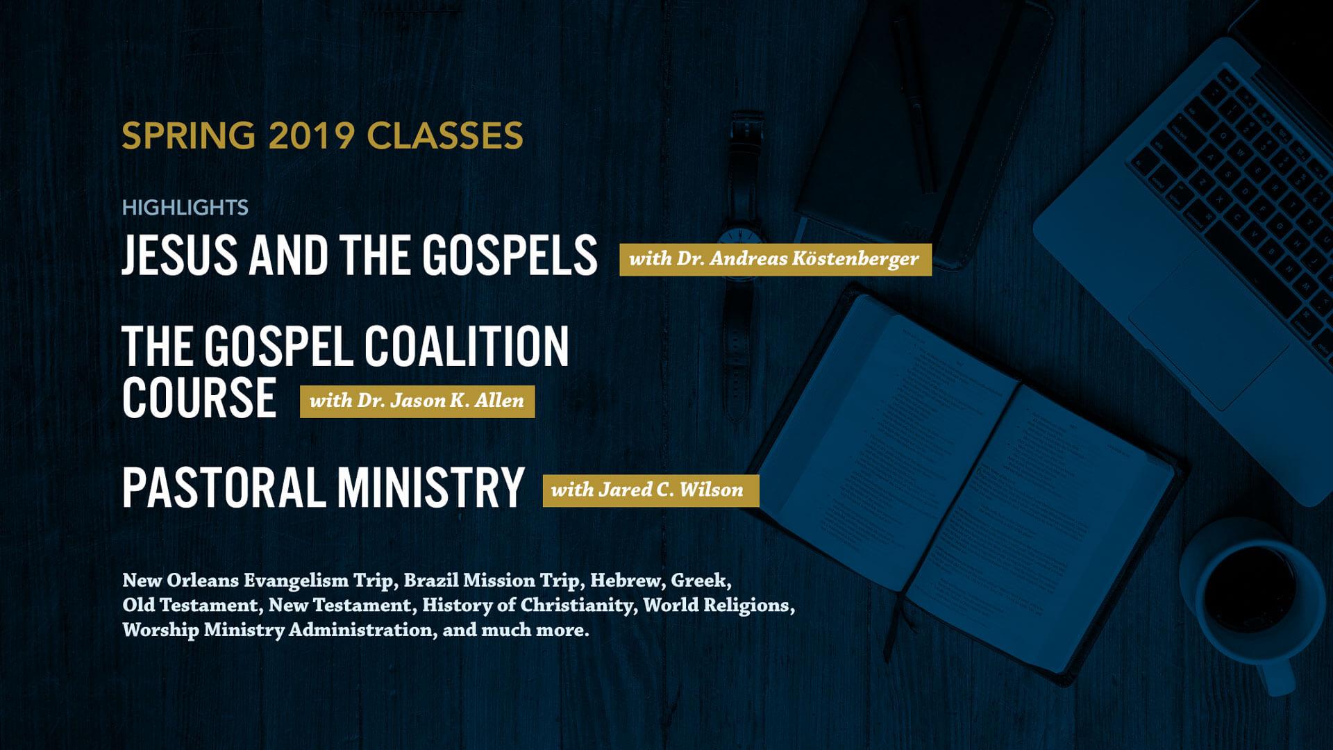 Spring 2019 Classes