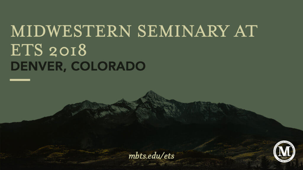 Midwestern Seminary faculty, students to present papers during ETS meeting