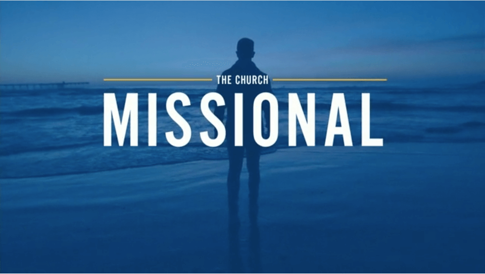 The Church Missional – David Choi