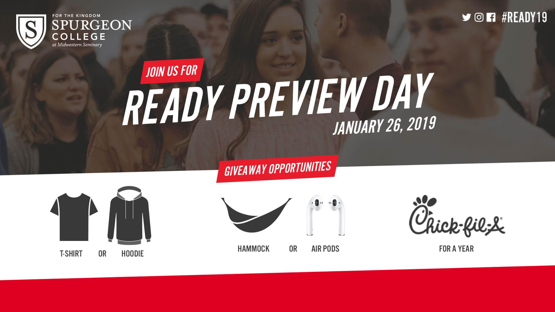 Ready19 Preview - Jan. 26