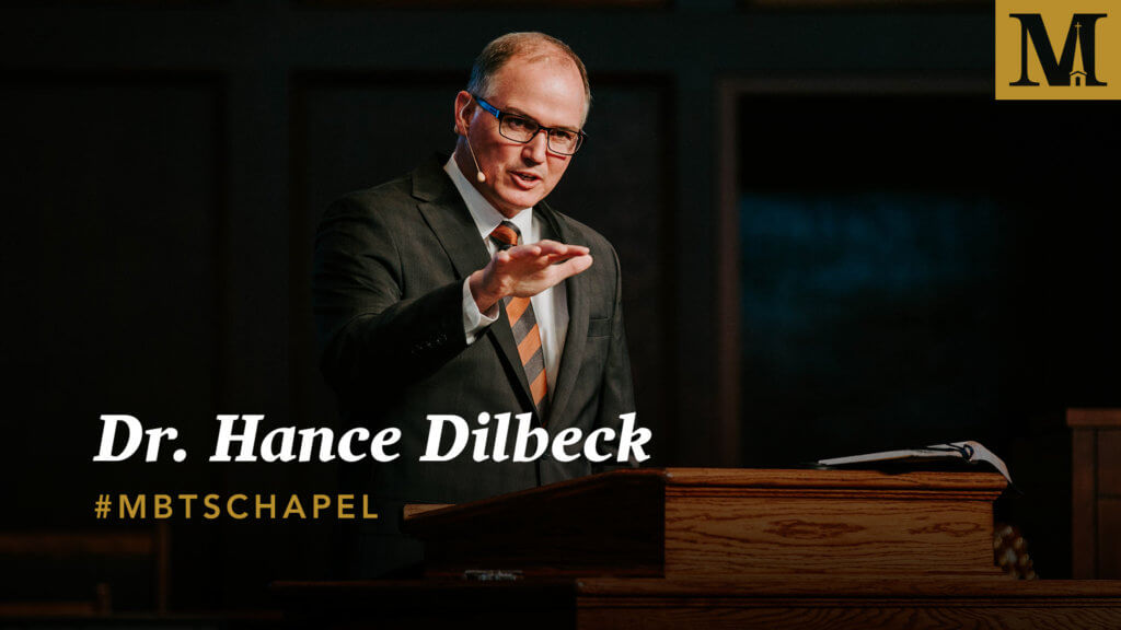 Chapel with Dr. Hance Dilbeck