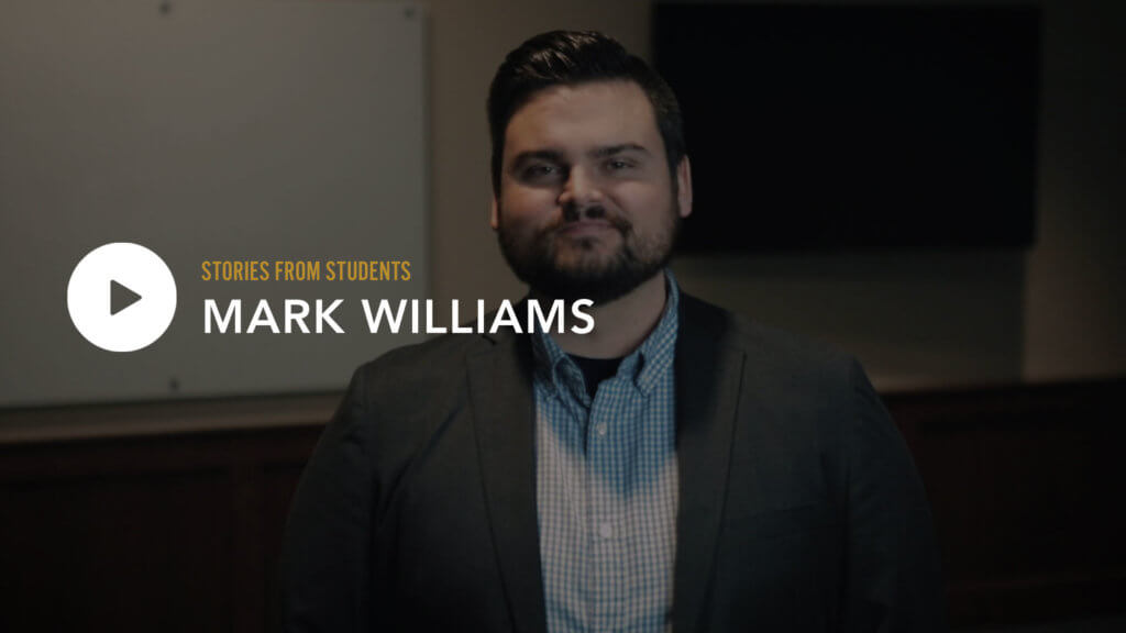 Mark Williams – Stories from Students
