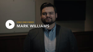 Mark Williams - Stories from Students
