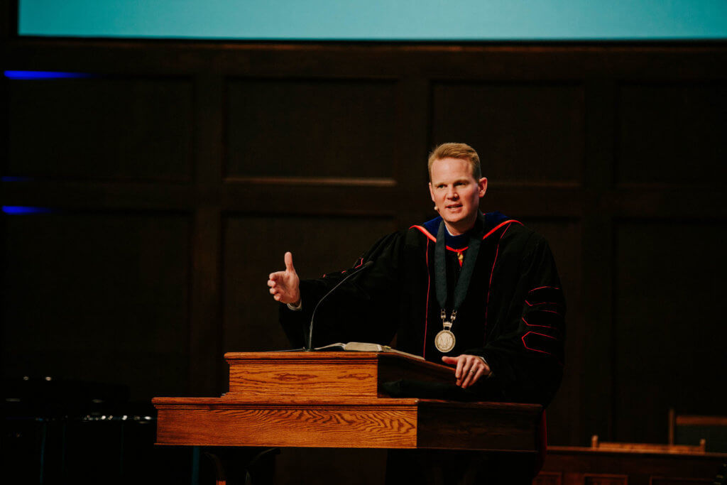 Chapel with Dr. Jason K. Allen – Spring Convocation