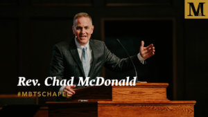 Chapel with Rev. Chad McDonald - Jan. 30, 2019