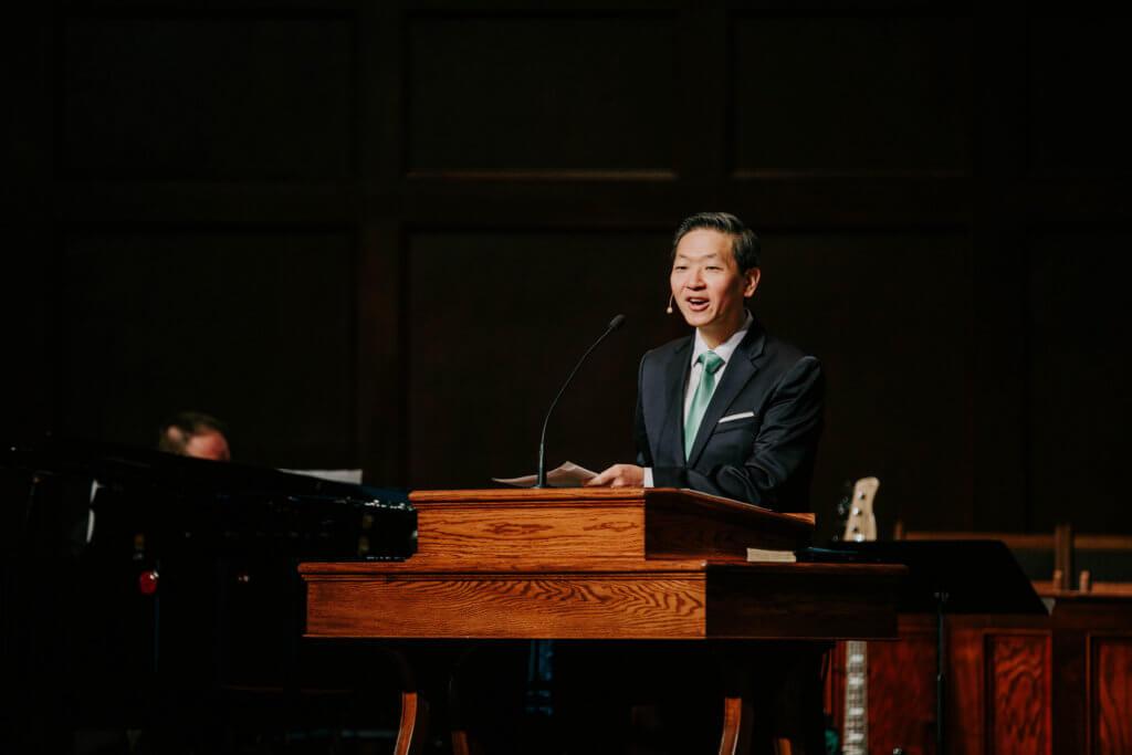 Chapel with Dr. Sung Jin Park