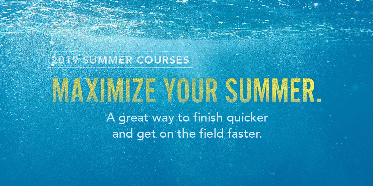 View Summer 2019 Classes