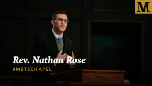 Chapel with Rev. Nathan Rose - Feb. 20, 2019