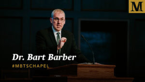Chapel with Dr. Bart Barber - March 5, 2019