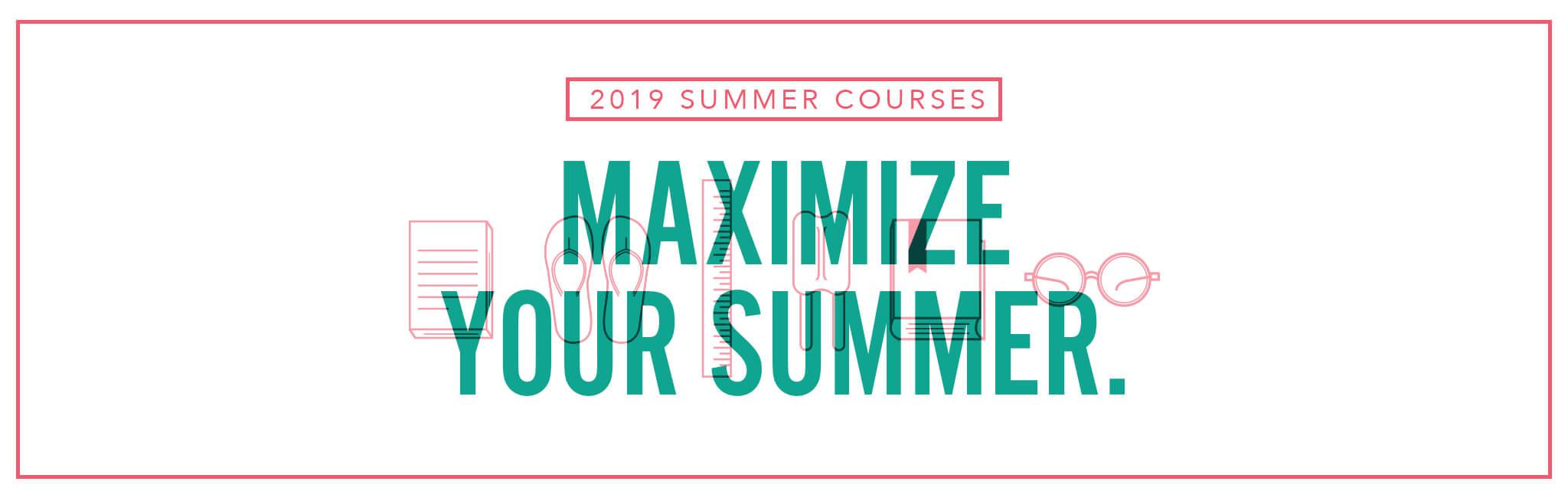 Register for 2019 Summer Term Classes