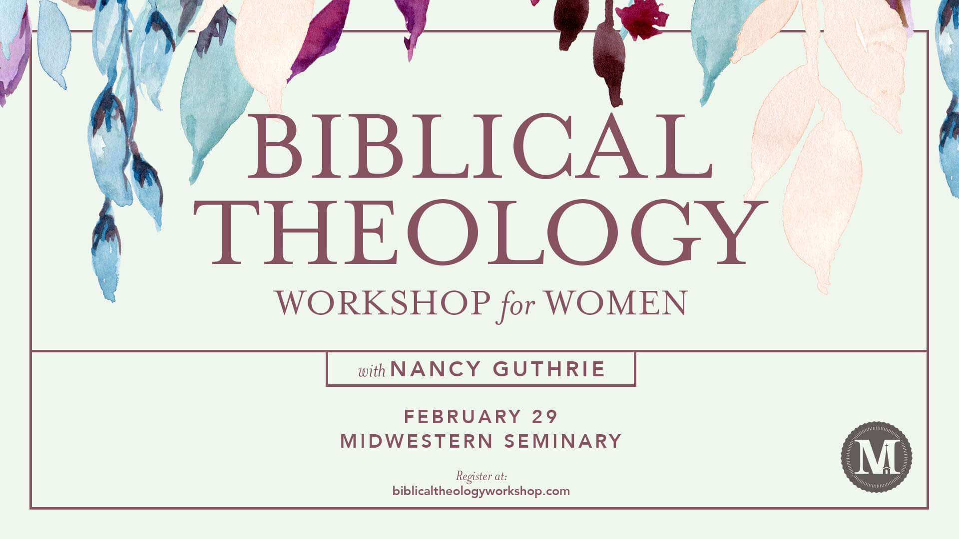 Biblical Theology Workshop for Women