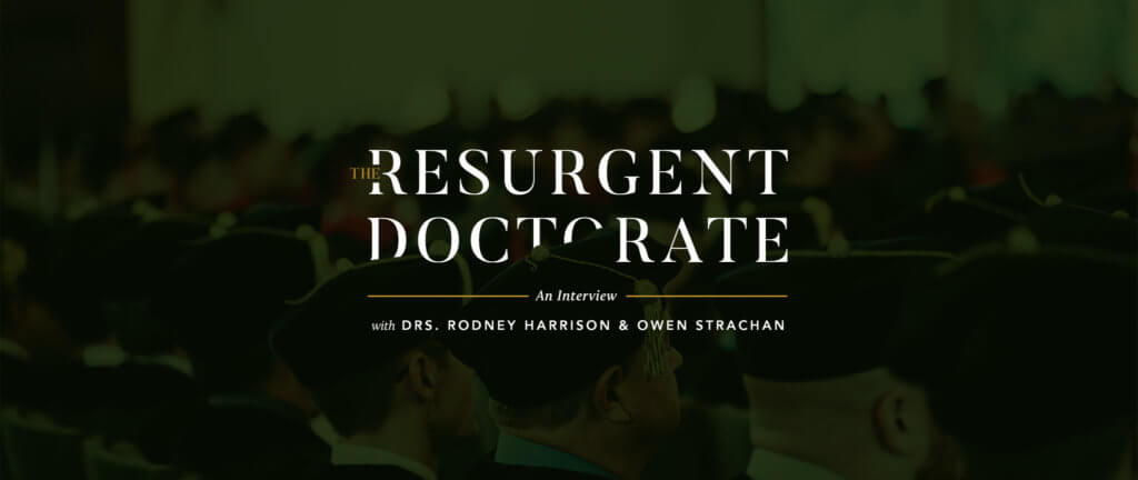 The Resurgent Doctorate: An Interview