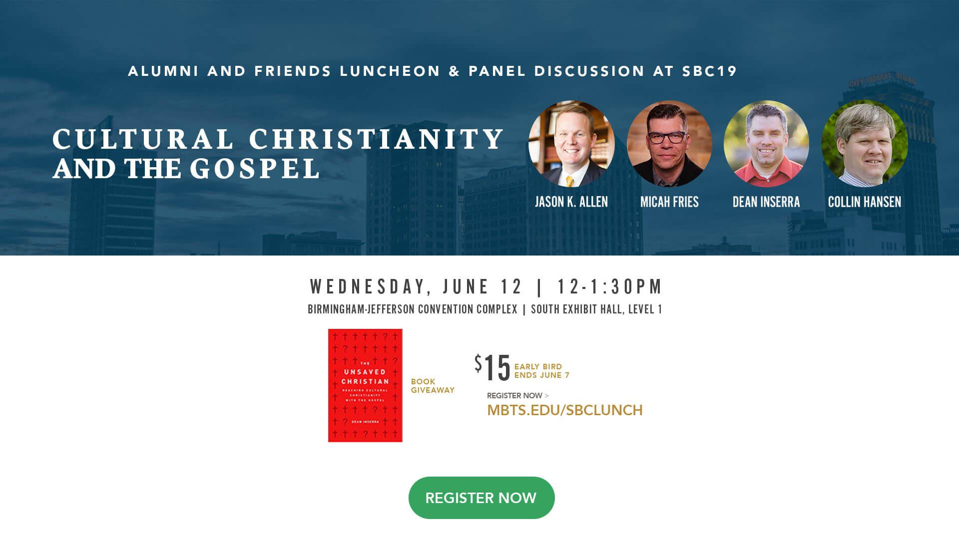 2019 Alumni and Friend Luncheon at SBC, June 12