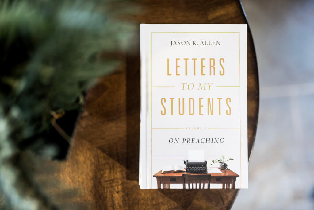 MBTS President Allen's Letters to My Students book released by B&H