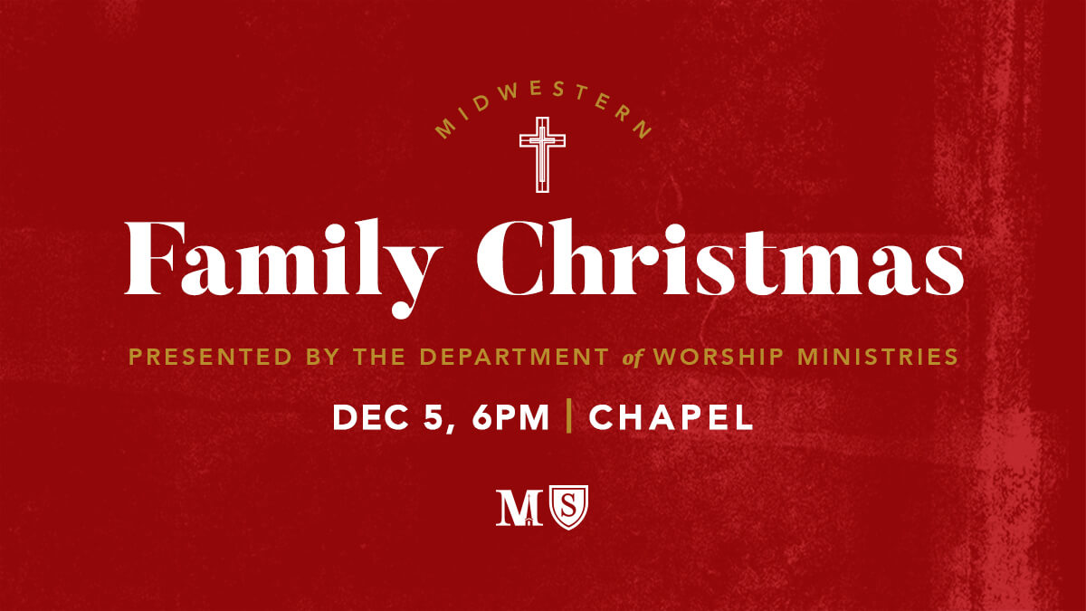 Join us for the Midwestern Family Christmas Dec. 5