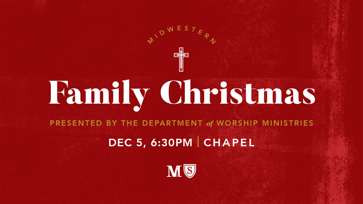 Midwestern Family Christmas, Dec. 5 at 6:30pm