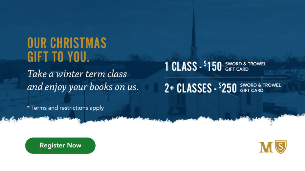 Winter Term Promo