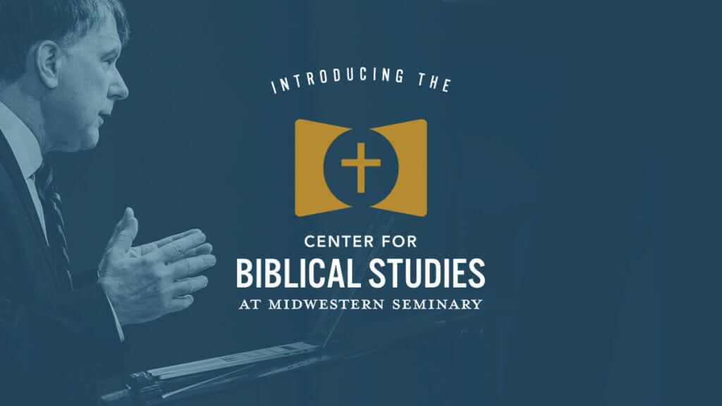 Center for Biblical Studies launched at Midwestern Seminary