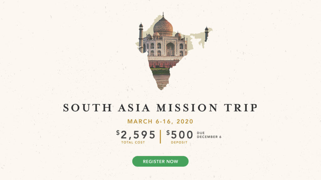 South Asia Mission Trip