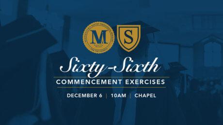 Fall 2019 Commencement - Dec. 6 - 10am