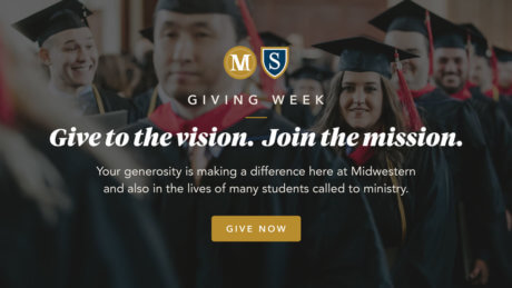 Giving week. Support Midwestern. Give Now.
