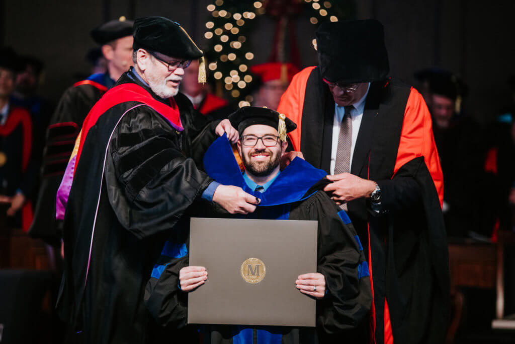 "MBTS celebrates graduates; president launches ""Truths Worth Contending For"" series"